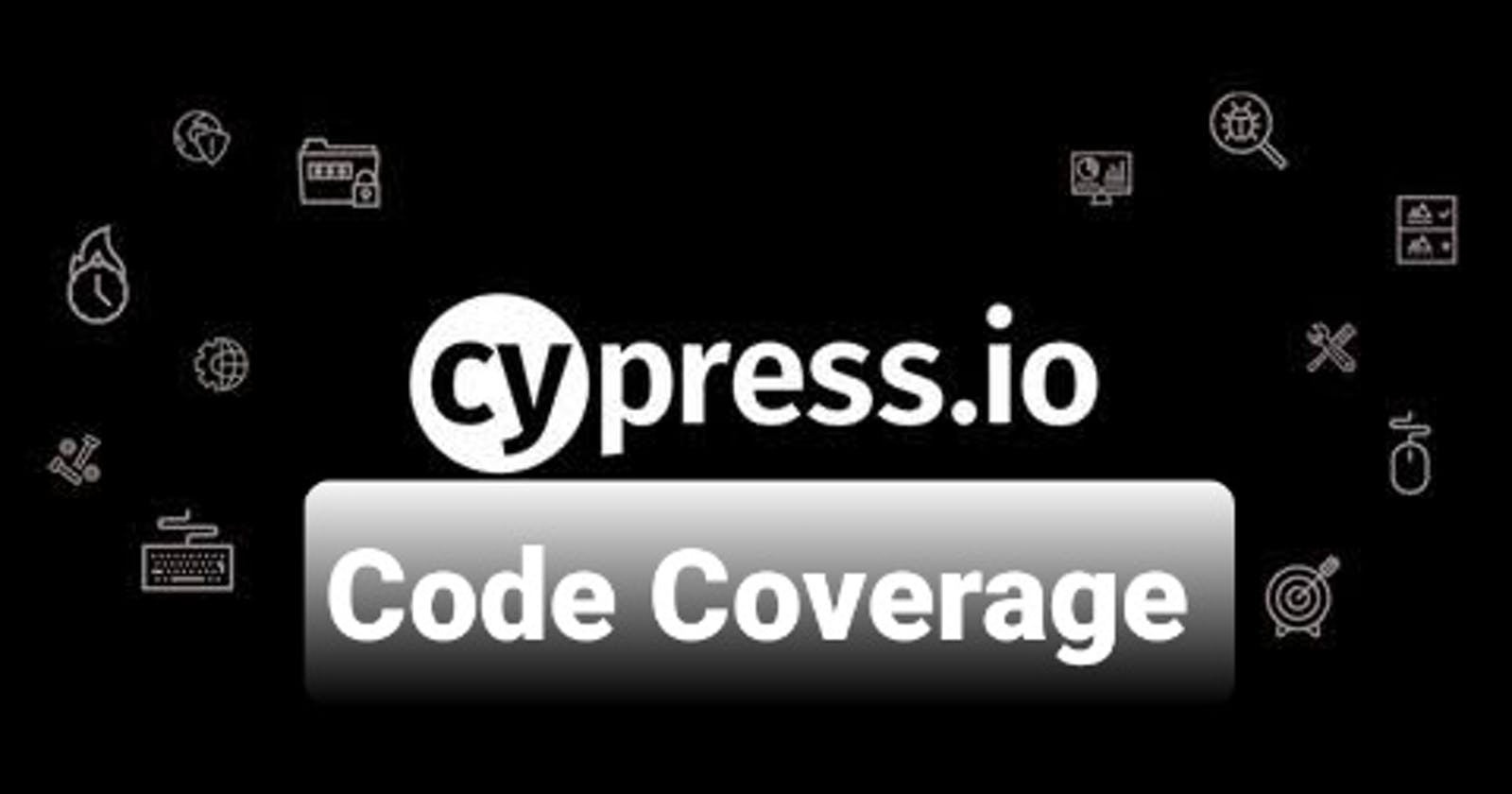Code Coverage from Cypress End-to-End Test