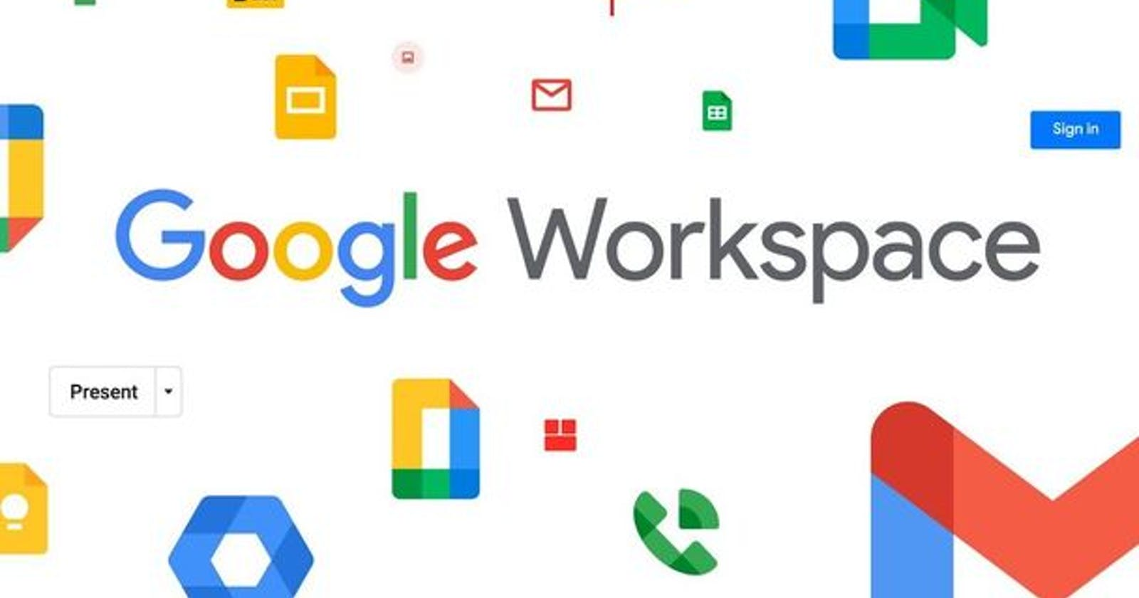 Google Workspace (formerly G Suite) is now available for every Google account holder