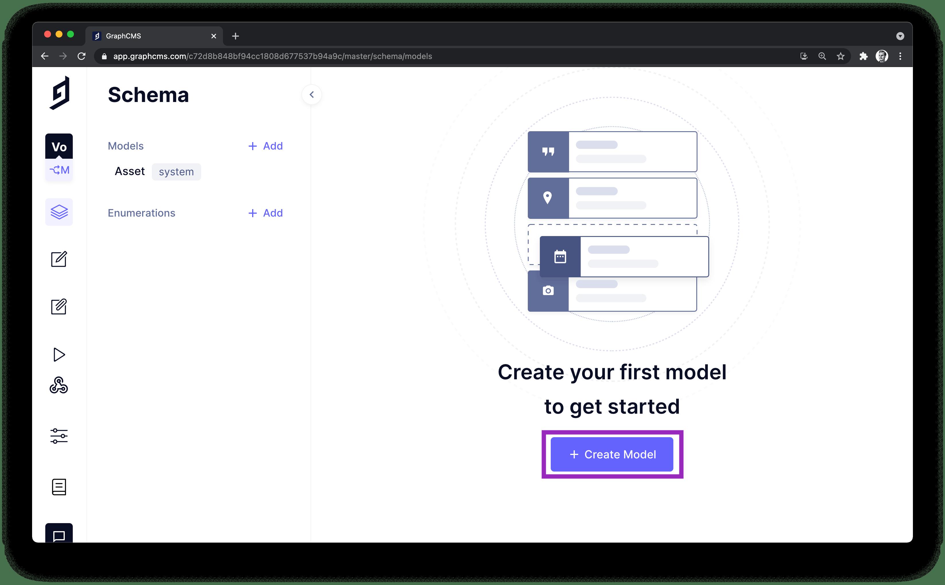 GraphCMS Create Model.png