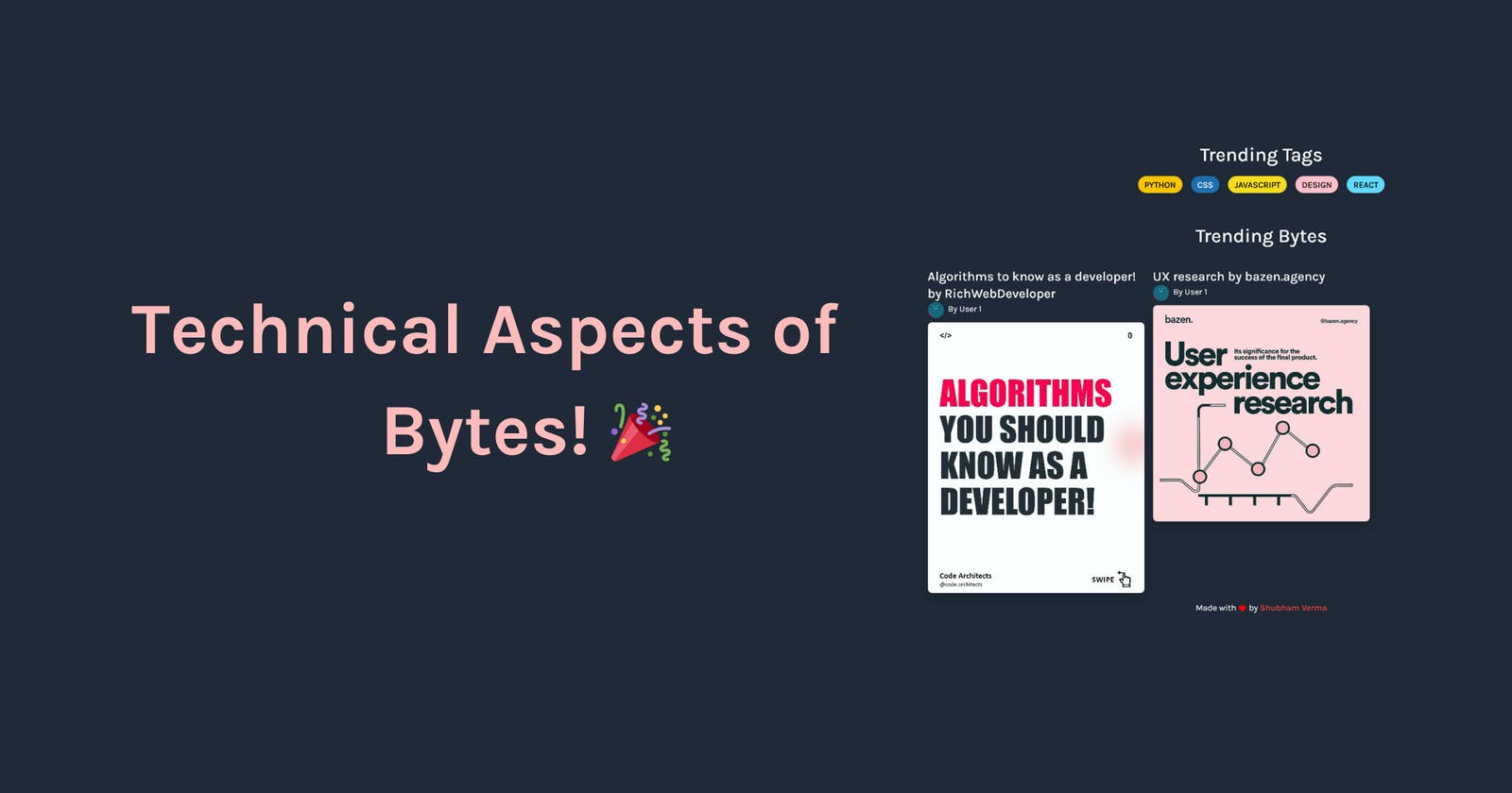 Technical Aspects of Bytes 🎉