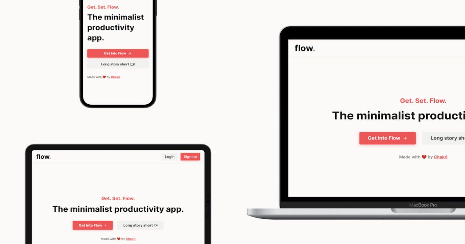 Introducing Flow 2.0