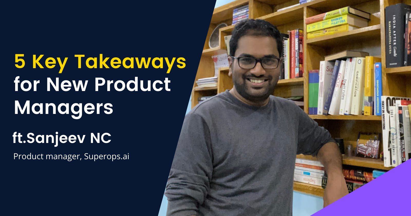 5 Key Takeaways for new product managers