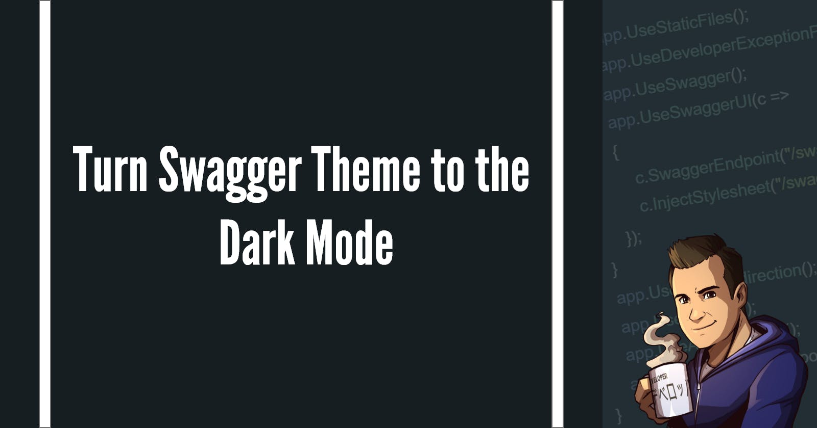 Turn Swagger Theme to the Dark Mode