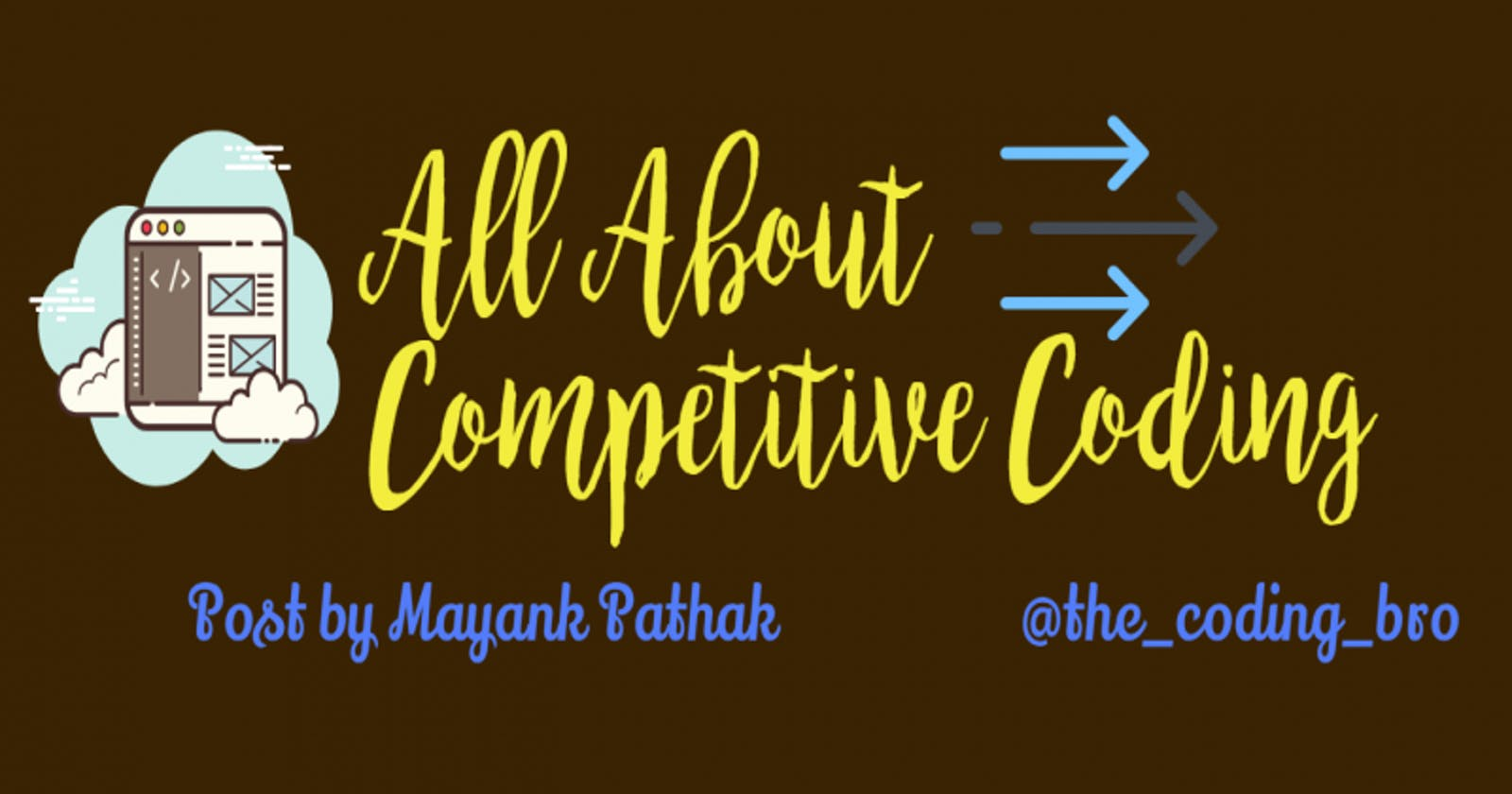 All About Competitive Coding👨💻