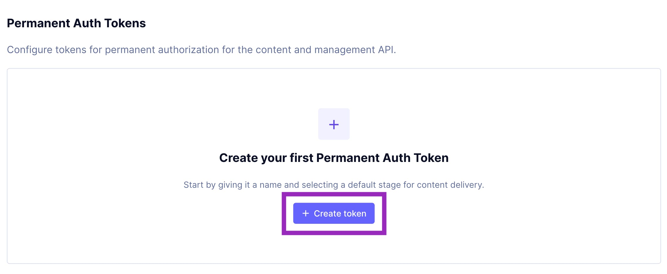 GraphCMS authentication tokens