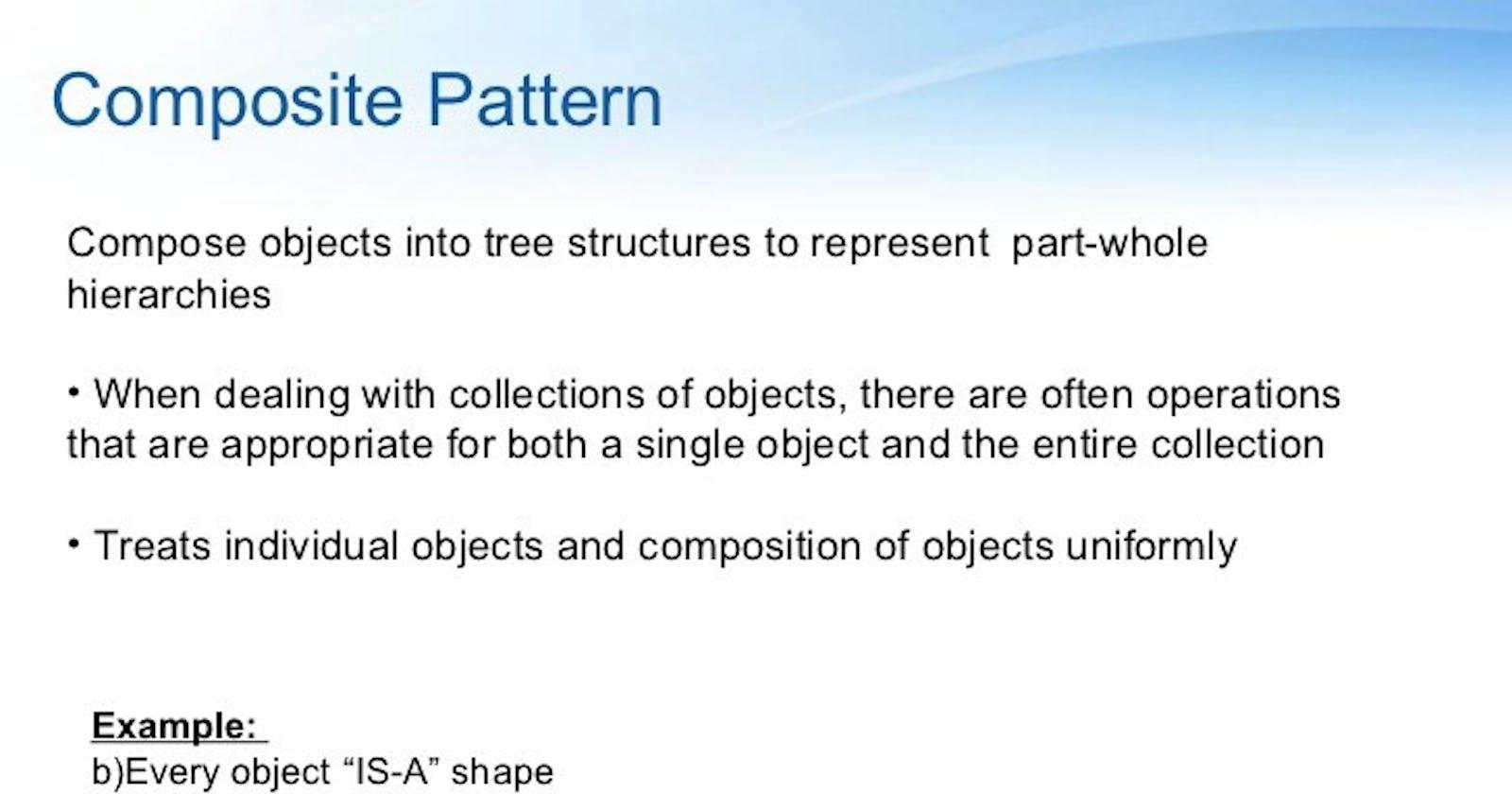 Composite Design Pattern