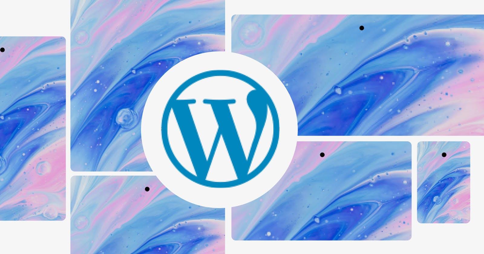 Image Optimization for WordPress