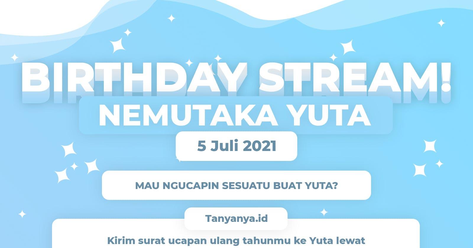 Undangan Ulang Tahun Yuta!