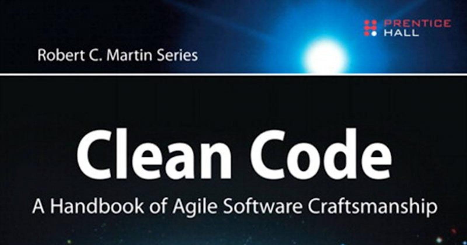 Clean Code by Robert C. Martin