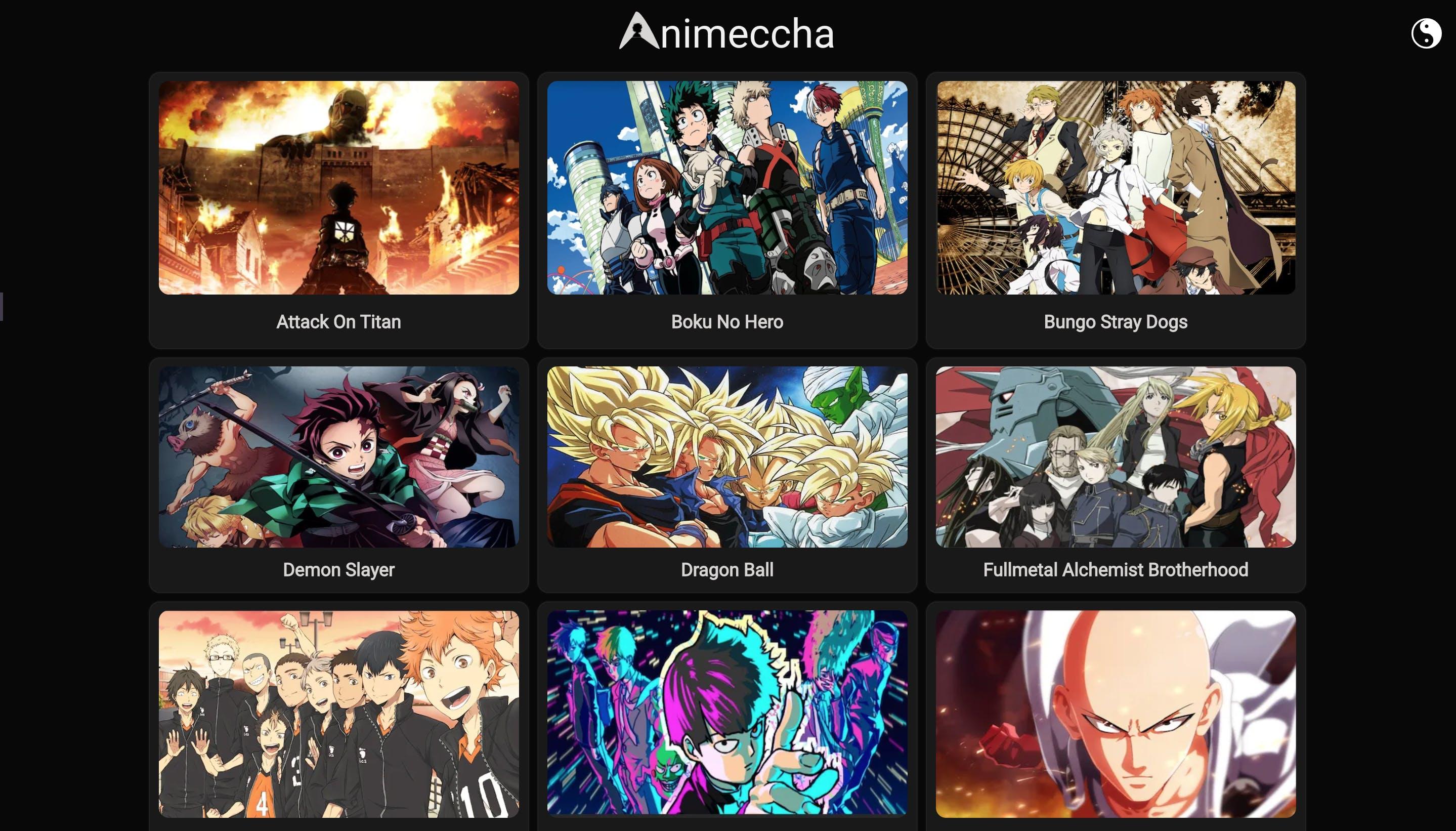 Animeccha Desktop