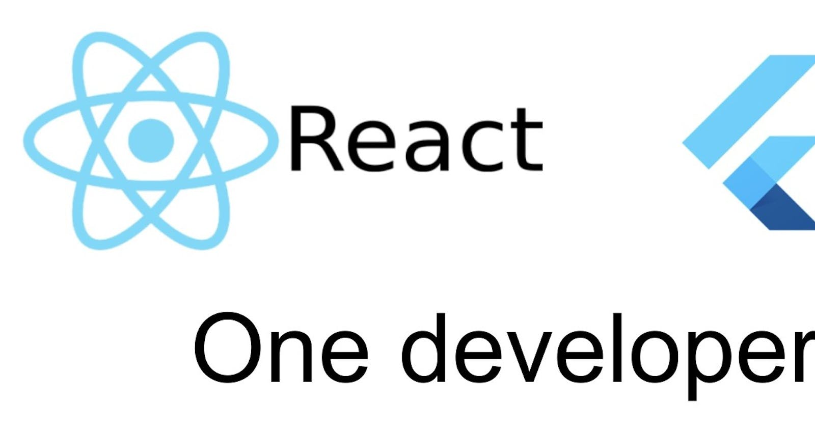 React to Flutter: One Developers Journey—Part 1