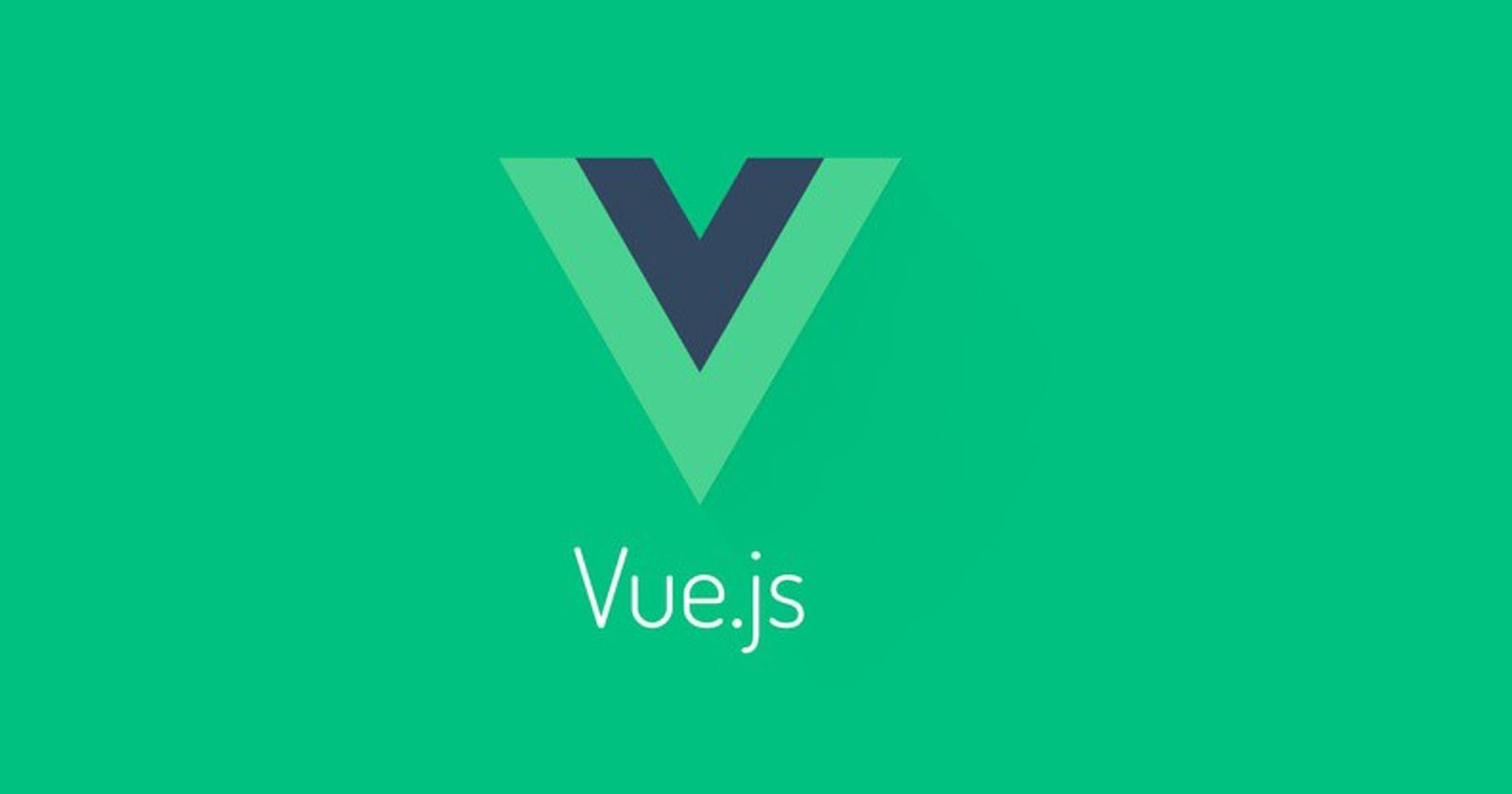 VueJS: First Impressions