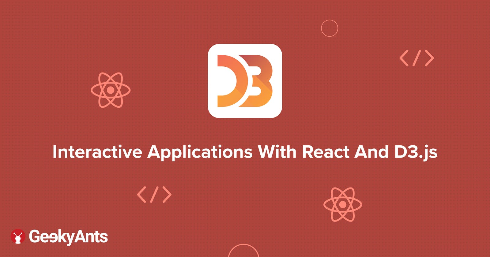 Interactive Applications With React And D3.js