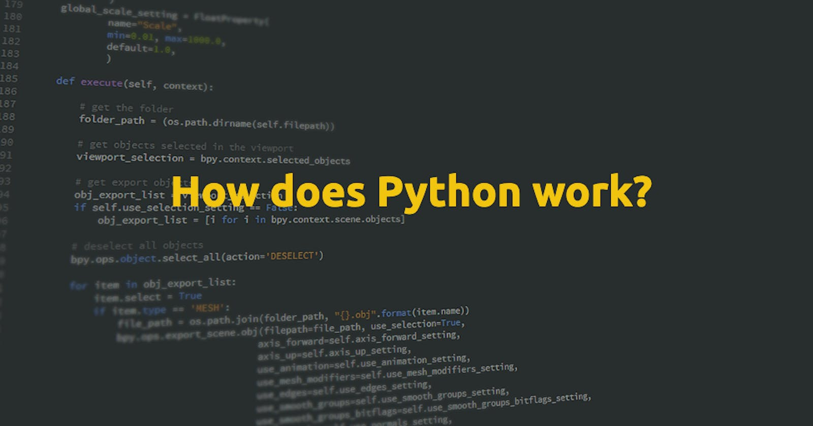 How does Python work? and various Python Implementations