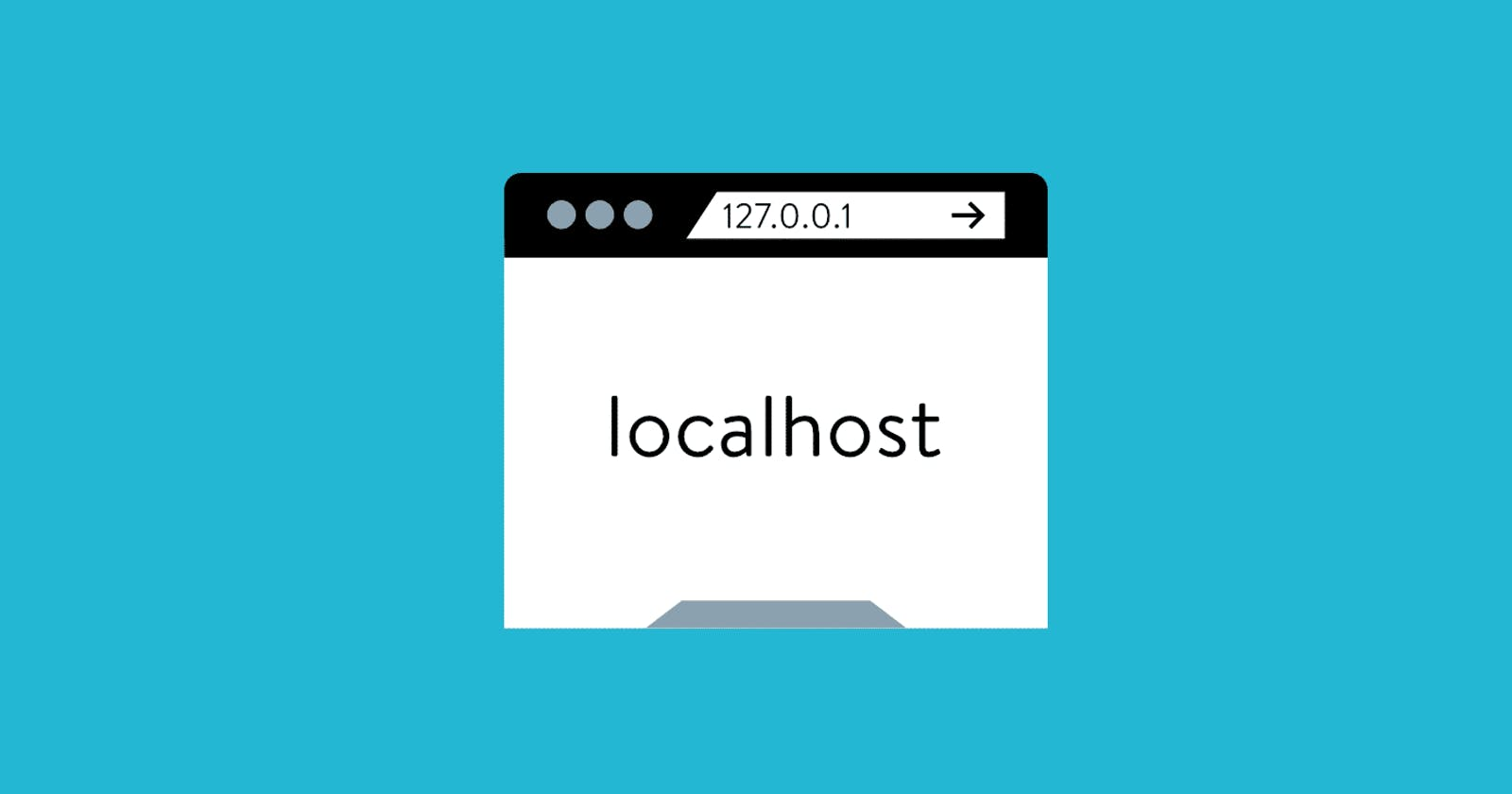 How to Run Localhost While not Sharing the Same Network.