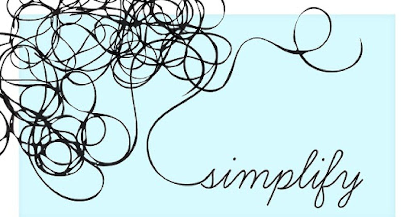 Economy of Simplicity.