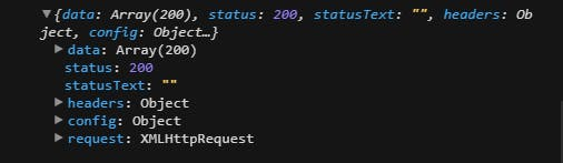 You would be getting something like above in your developer's console
