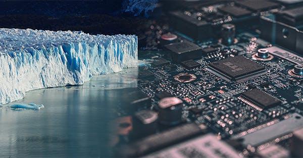 Ice sheet and circuit board