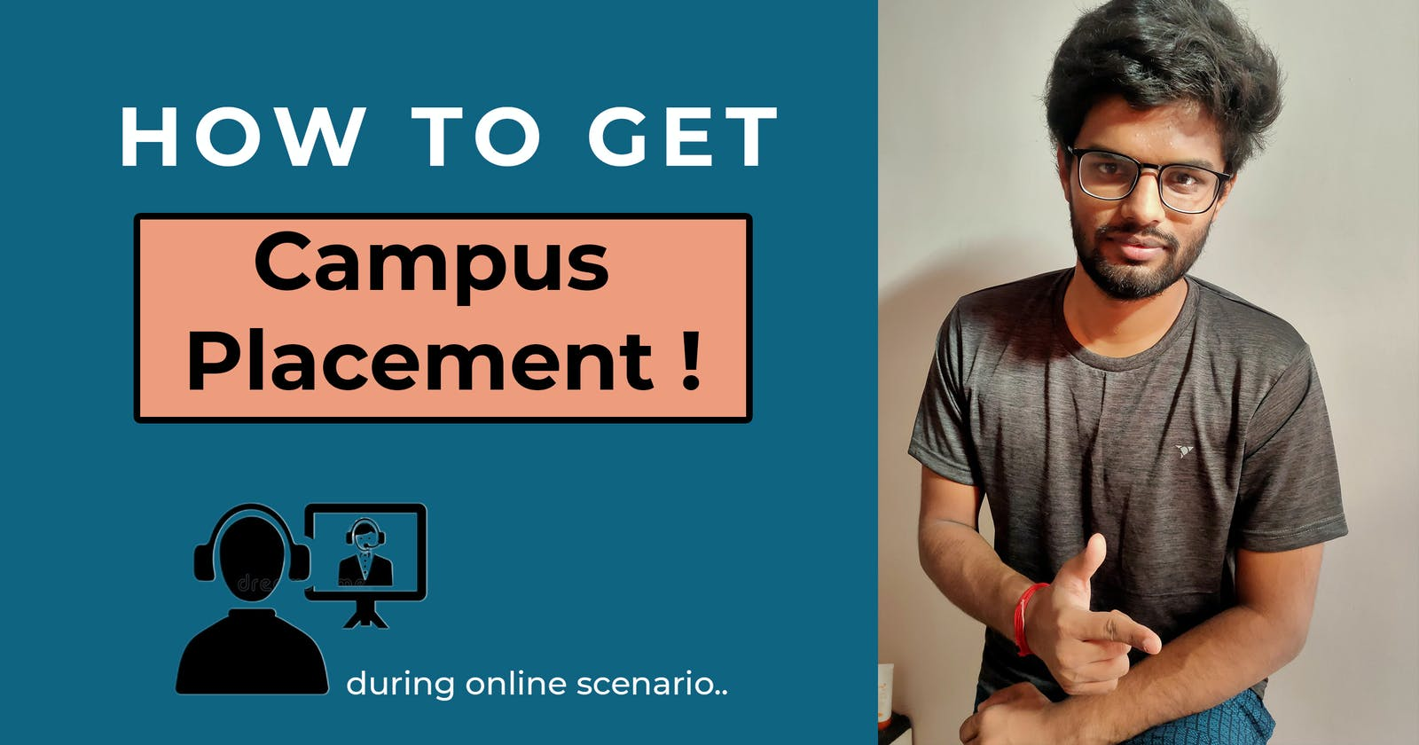 How to get campus placement during this Online Scenario | Anmol Sahu