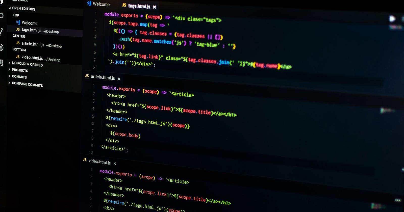 The VSCode Checklist