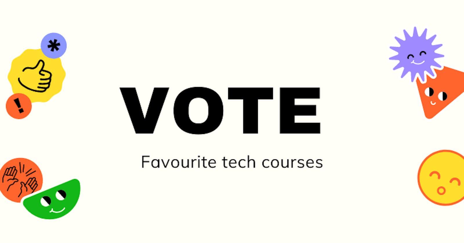 GraphCMS + Nuxt.js - Vote Your Favourite Tech Courses