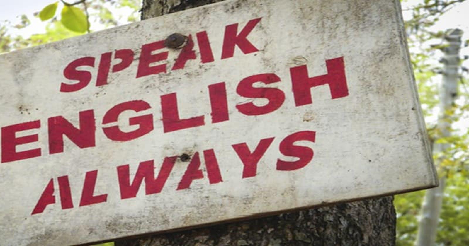 Trabalho remoto no exterior #3 - Speaking English