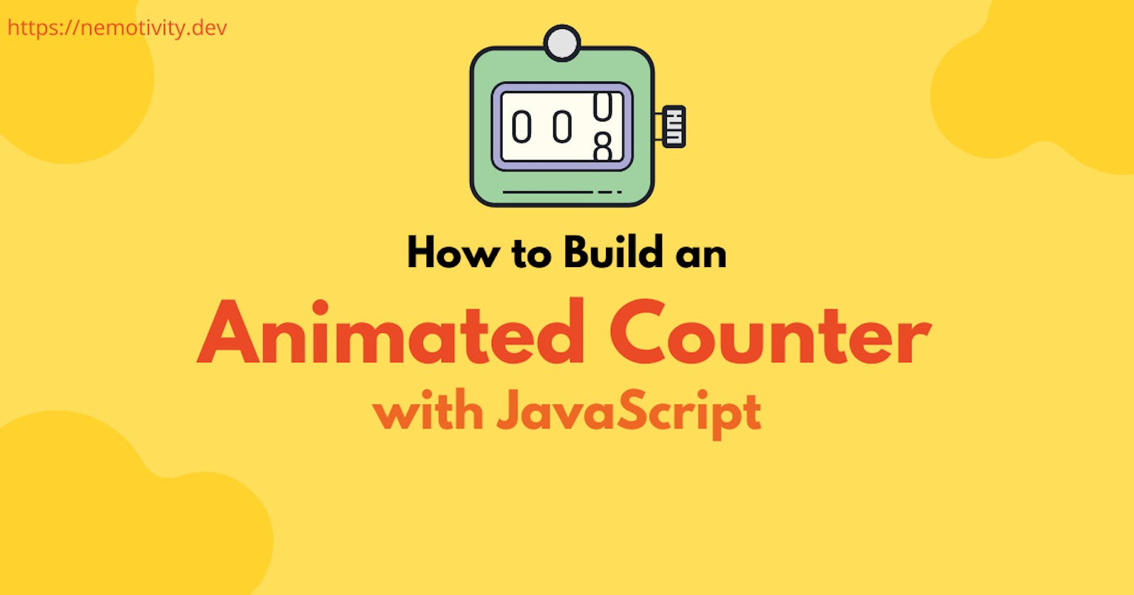 How to Build an Animated Counter with JavaScript