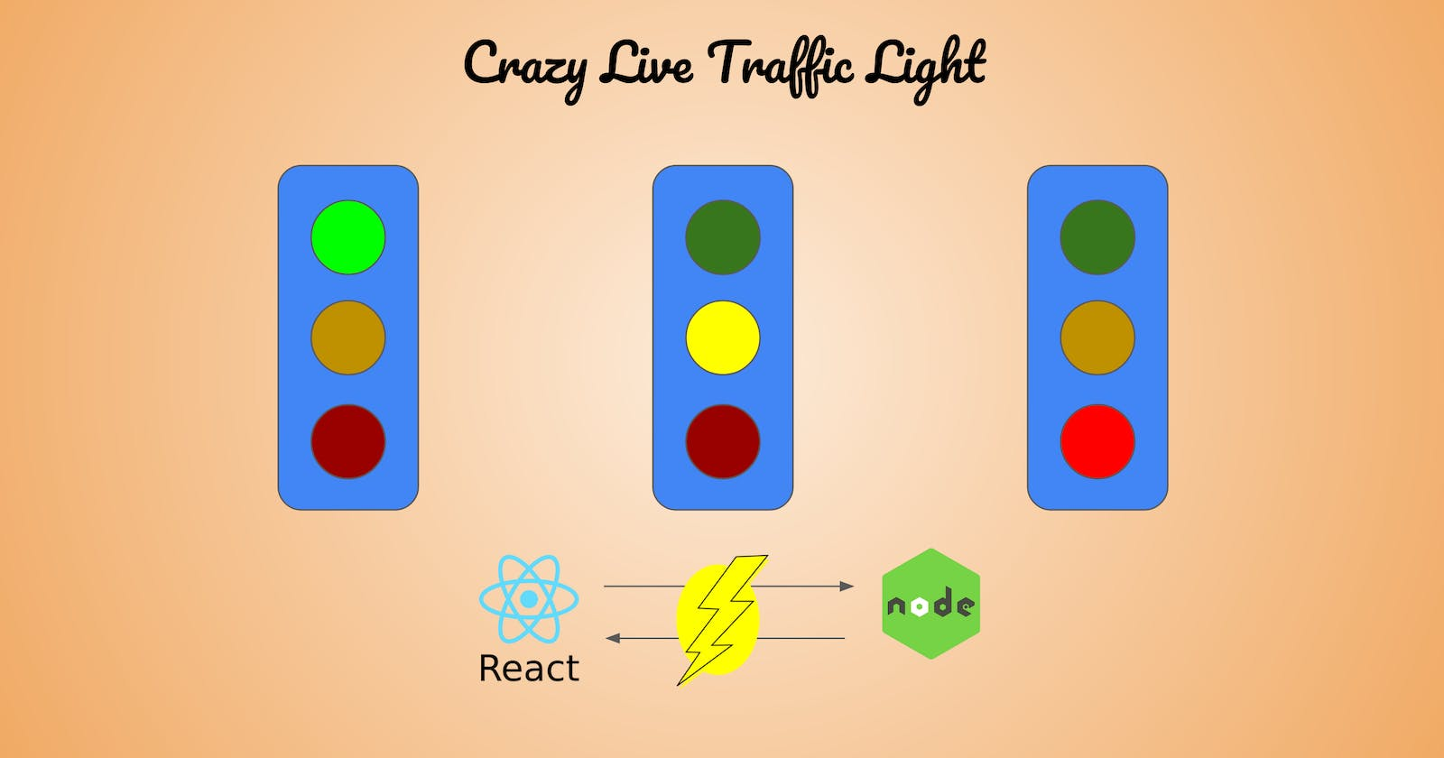 Live Crazy Traffic Light with React and Server Sent Events