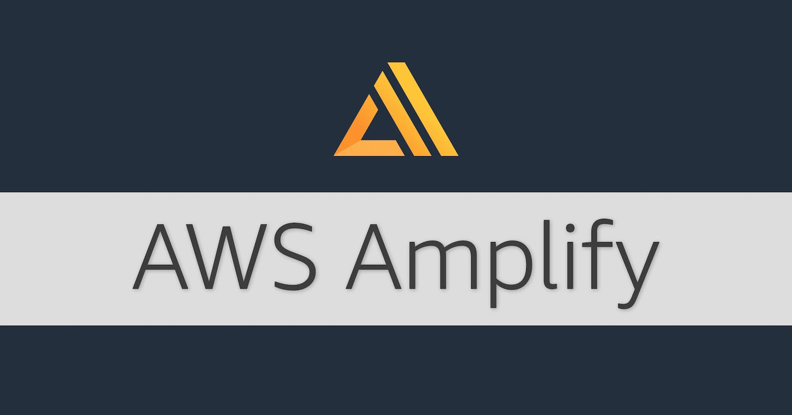 Getting Started with AWS Amplify. Building Auth and Rest APIs using Amplify and REACT.