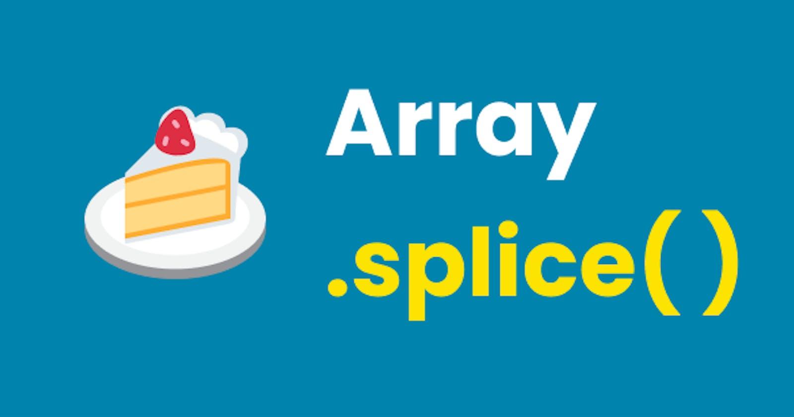 Insertar un elemento en una posición específica de un Array en Javascript