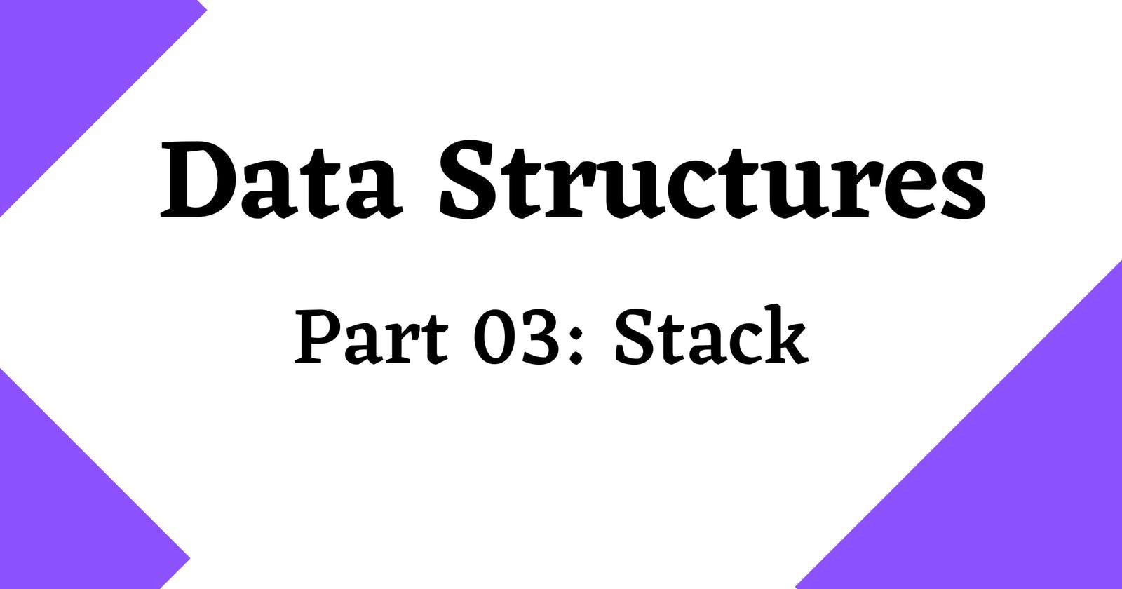 Data structures 101 🏻 : Stack