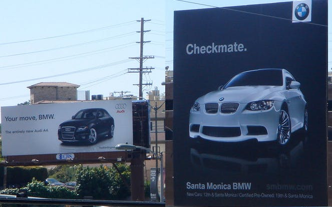 BMW checkmate advert