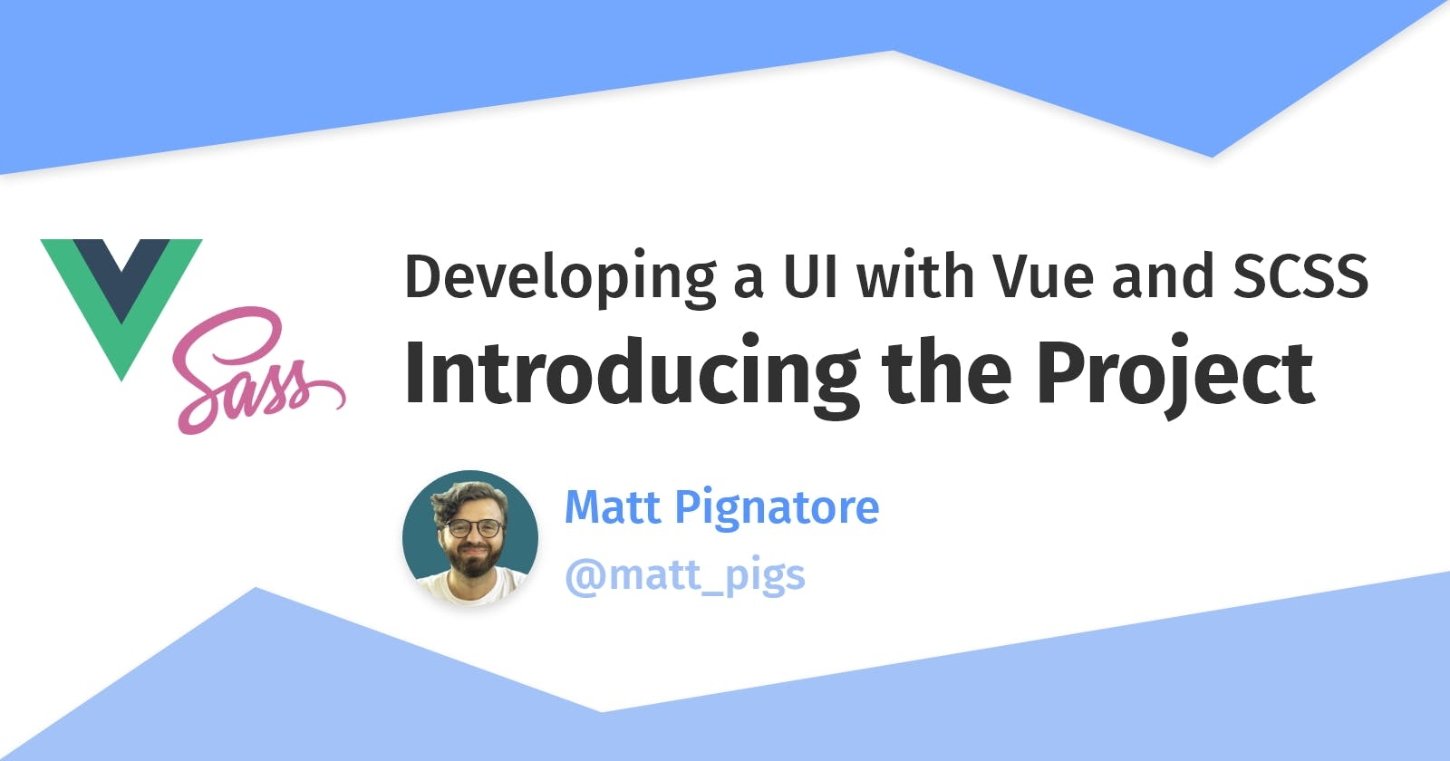 Developing a UI with Vue, Part 1: Introducing the Project