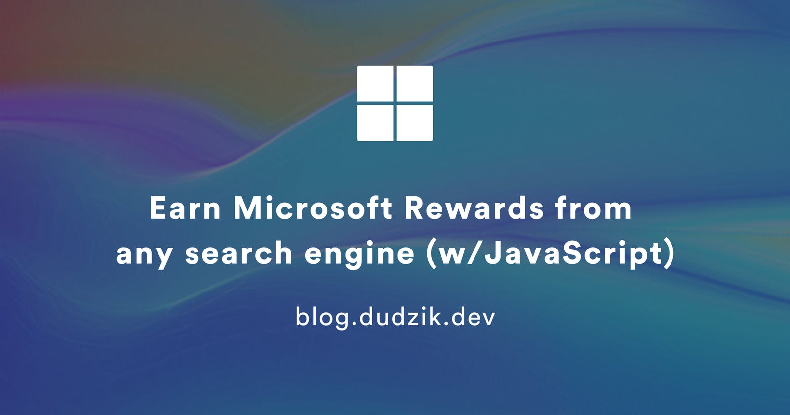 Earn Microsoft Rewards from any search engine (w/JavaScript)
