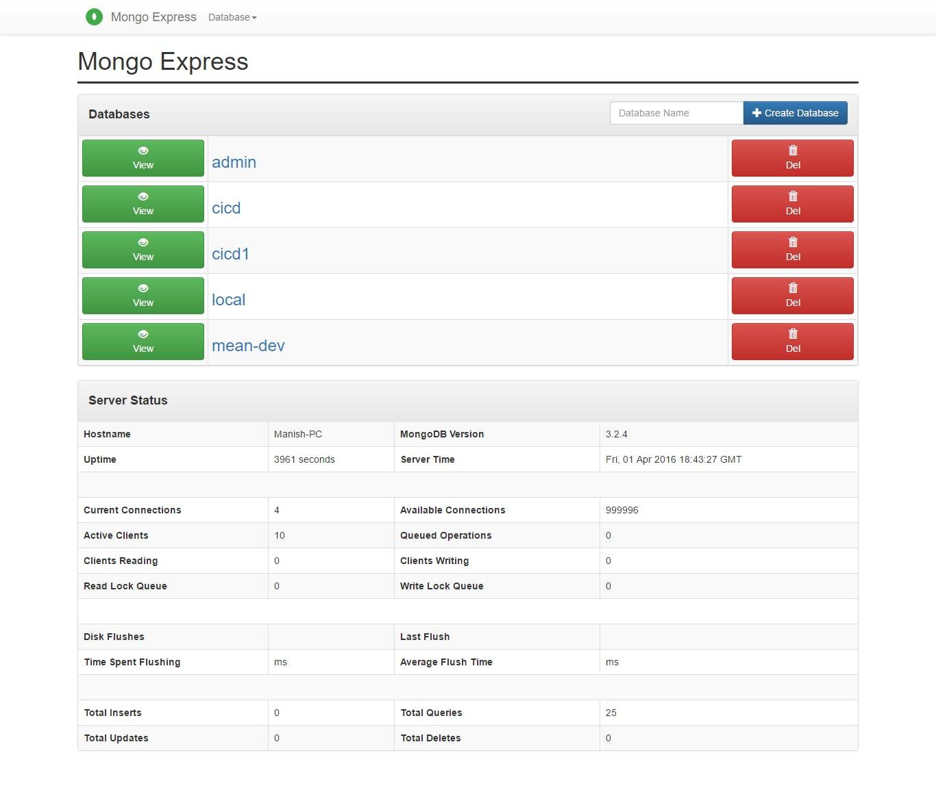 mongo-express