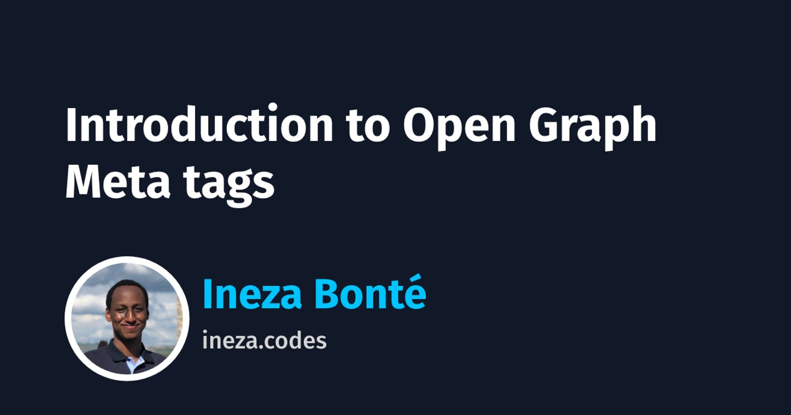 Introduction to Open Graph Meta tags