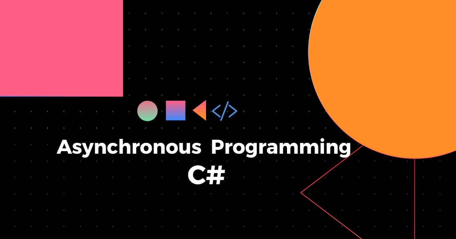 Asynchronous programming 101