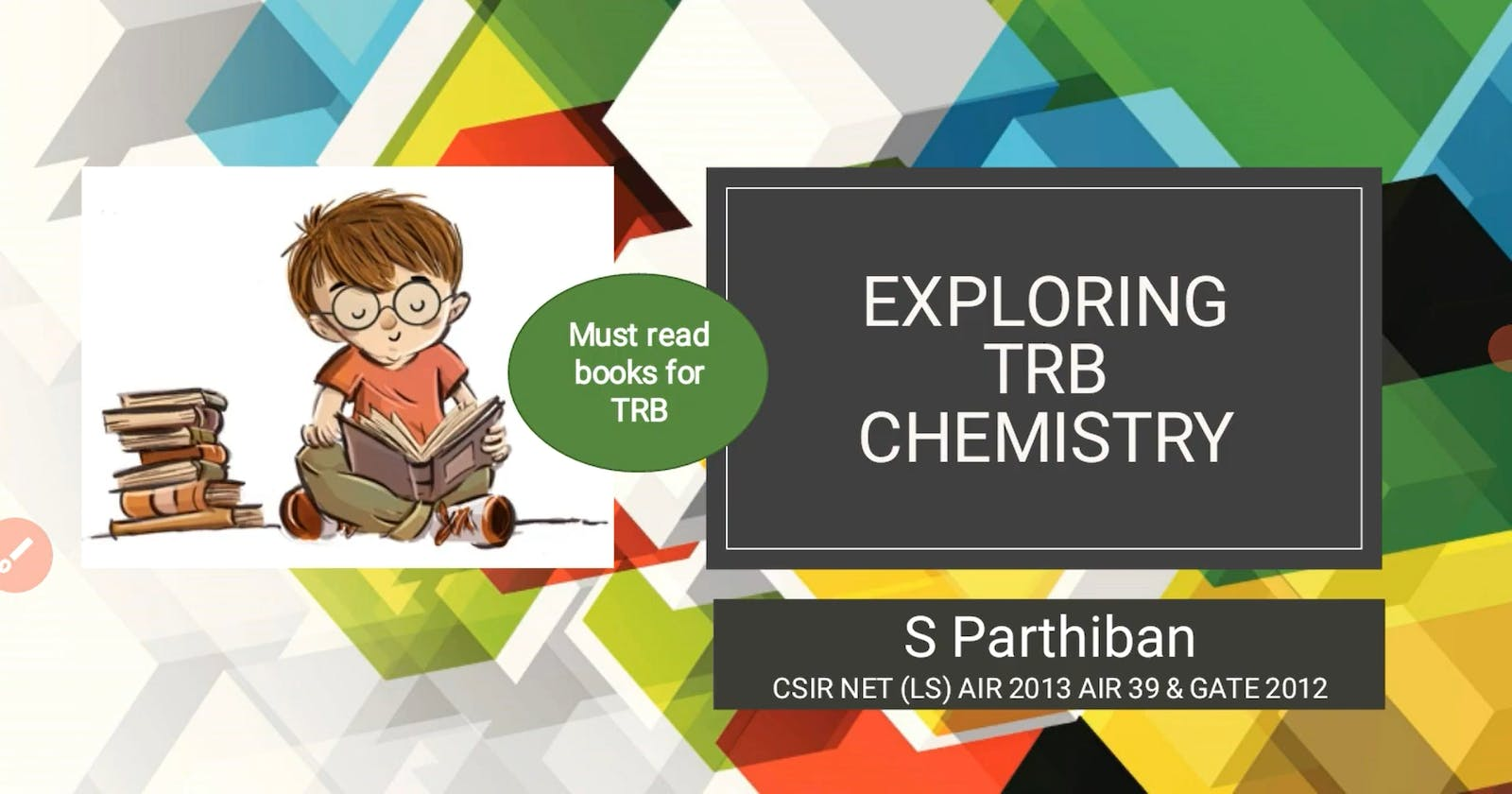 Must read books for PG TRB Chemistry | Polytechnic TRB | My choice of reference books