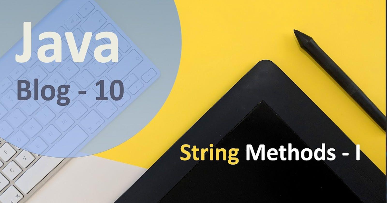 String Methods
