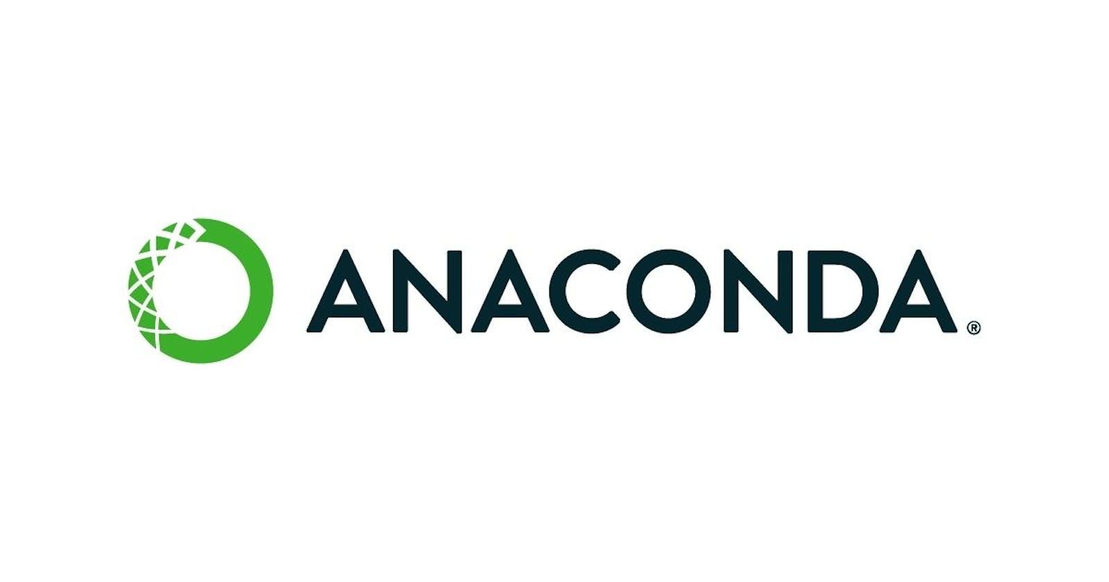 Anacondas and Machine Learning