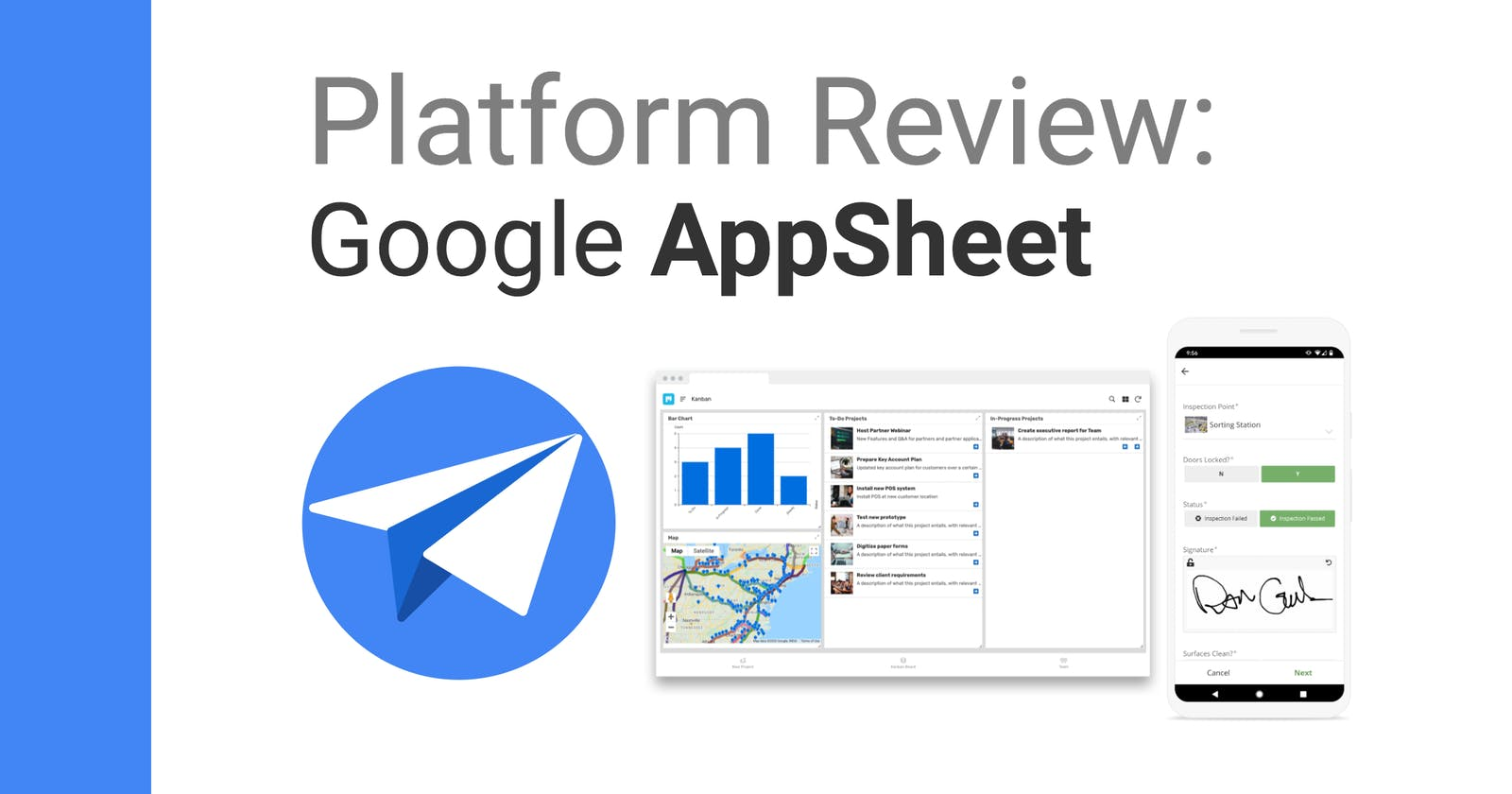 Google's AppSheet: No-Code Apps from Spreadsheets