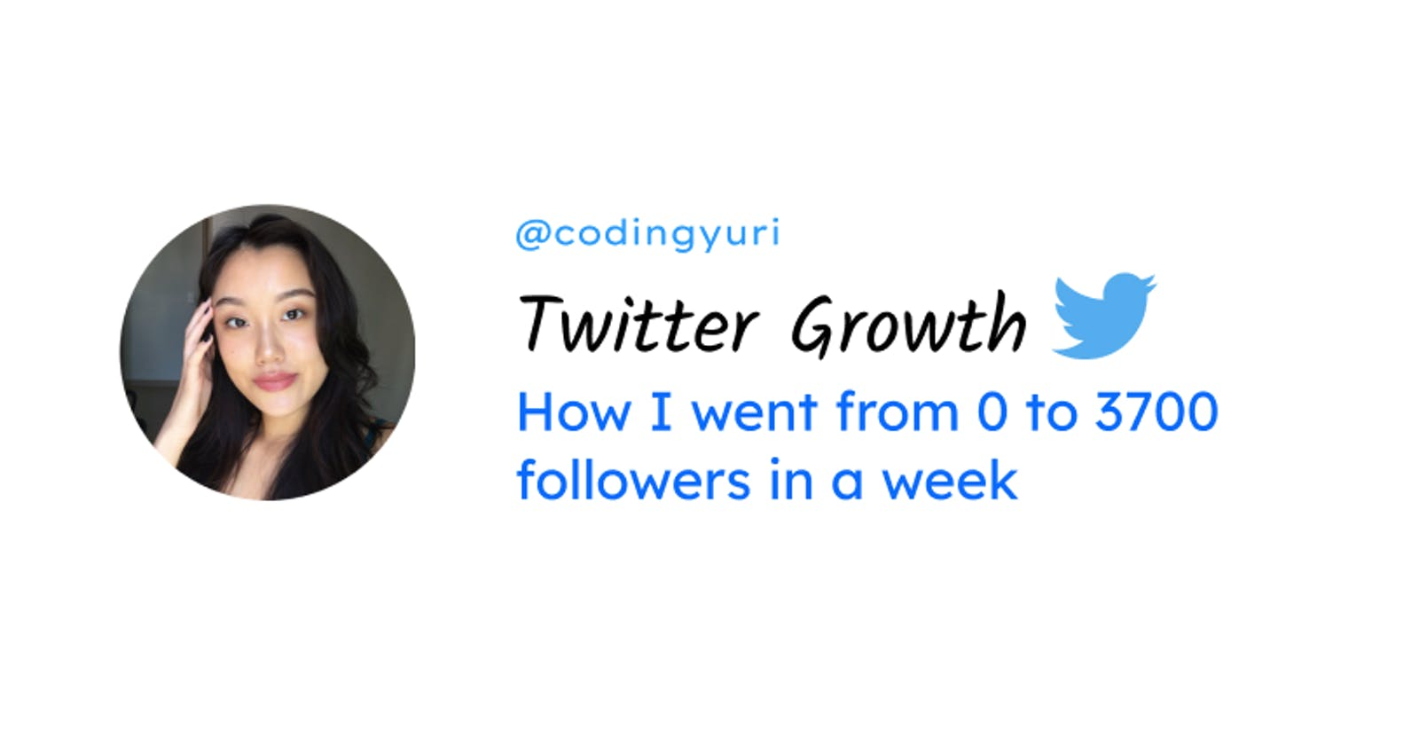 How I went from 0 to 3.7k Twitter followers in 1 week