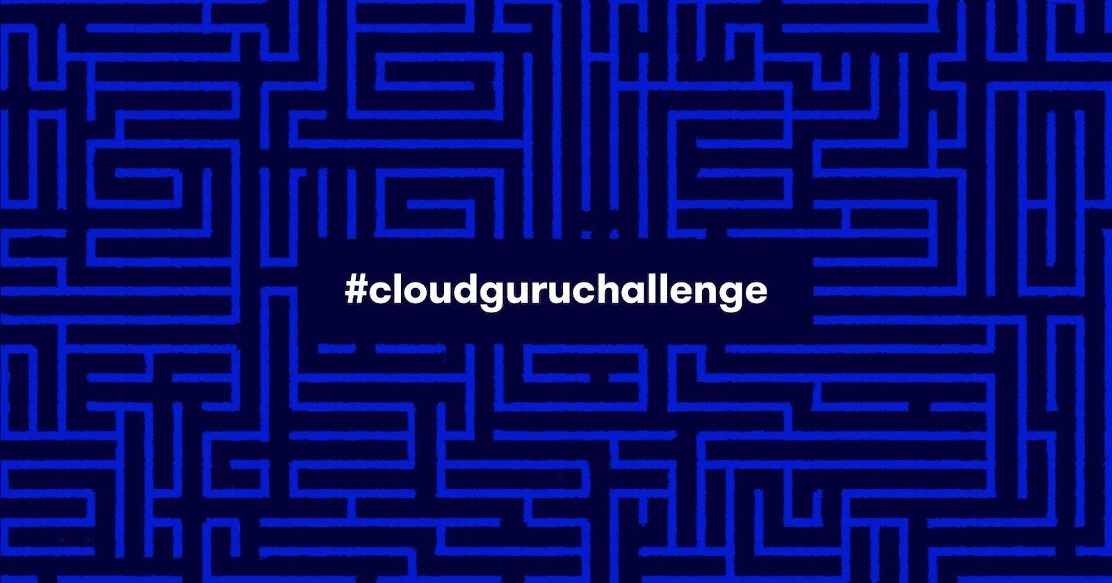 #CloudGuruChallenge Improve Application Performance using Amazon ElastiCache