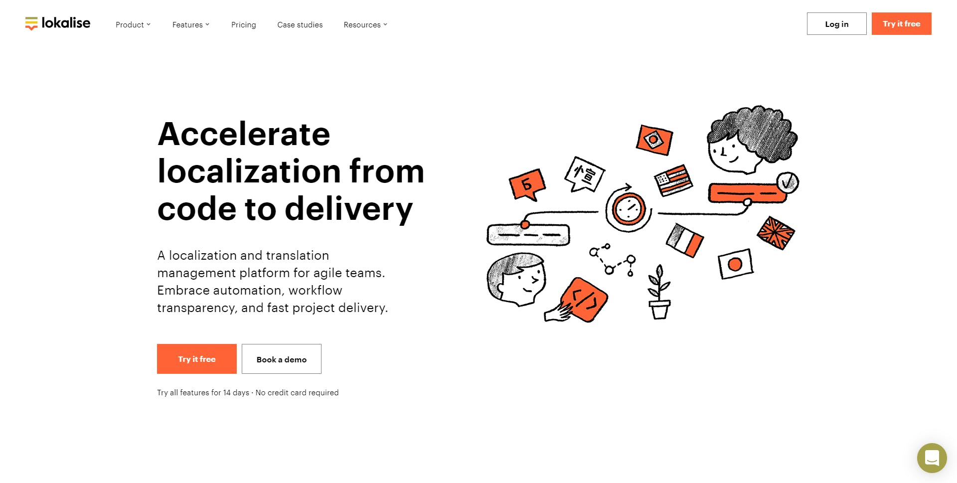 Lokalise.com Homepage