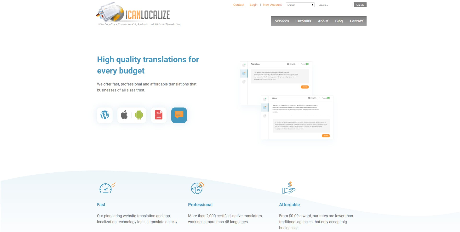 ICanLocalize Homepage