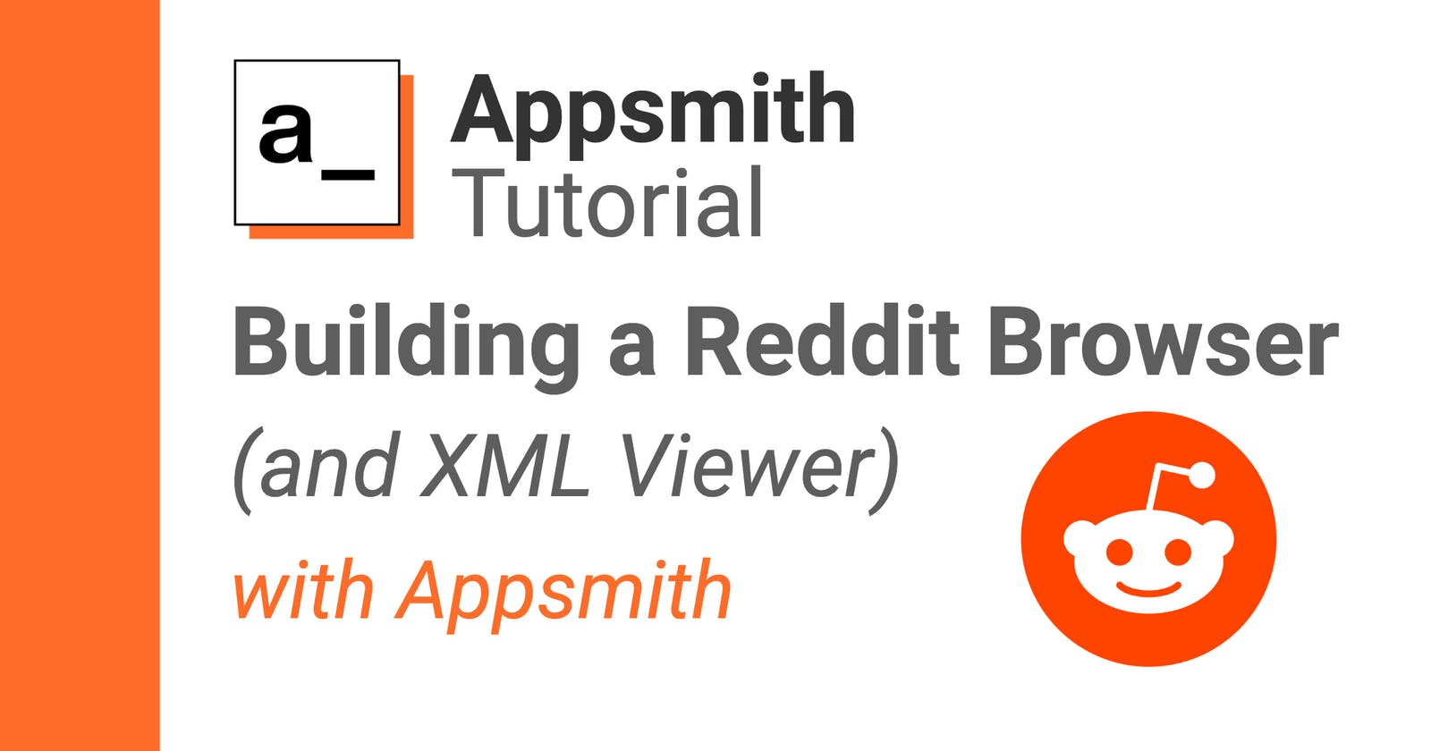 Building a Reddit Browser (and XML Parser) in Appsmith