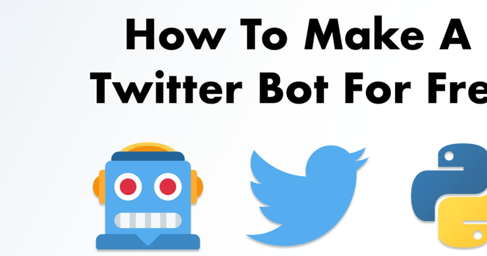 How to make a Twitterbot?