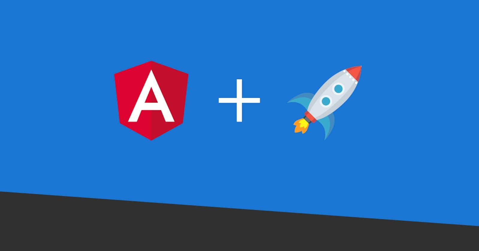 Angular: Preparing to Launch