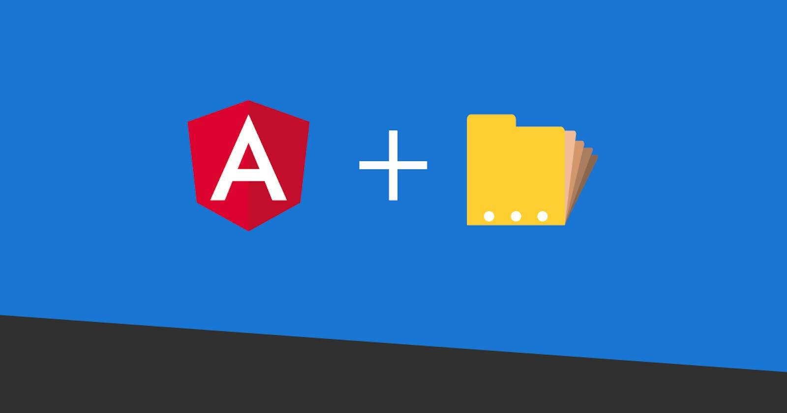 Angular: Project Organization