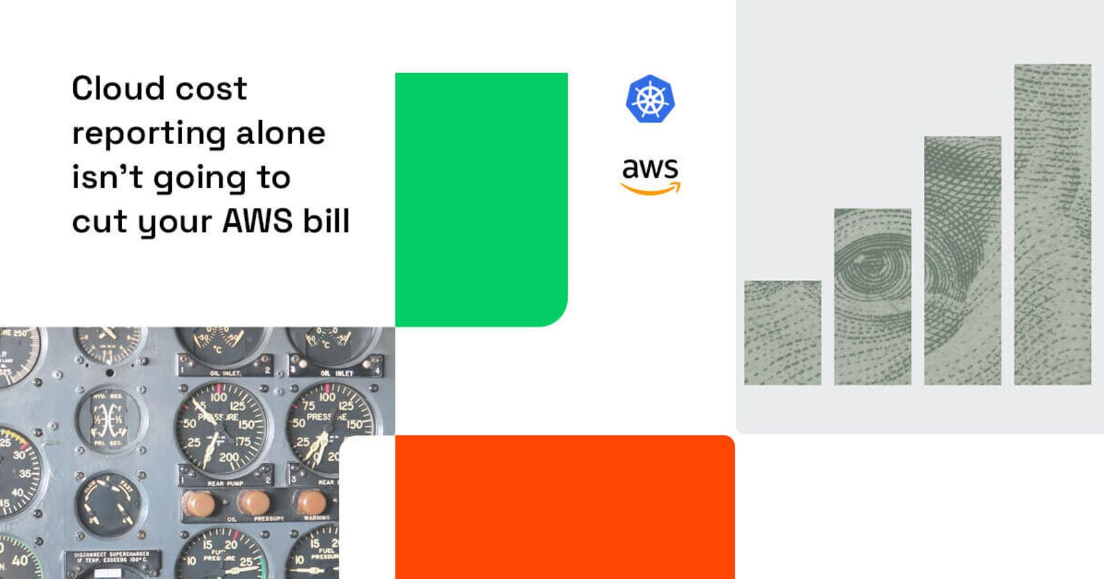 Cloud cost reporting alone isn't going to cut your AWS bill